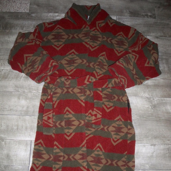 Woolrich Other - Woolrich Mens Robe Bathrobe Aztec Southwest Xlarge
